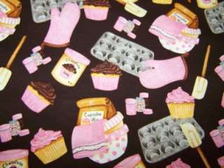 FROSTING ICING CUPCAKE BAKING SUPPLIES LINED VALANCE