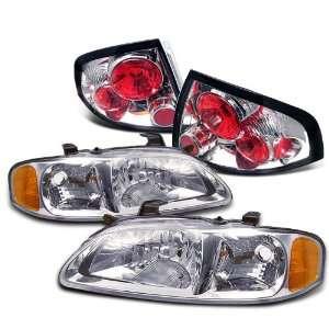 Eautolight 2000 2003 Nissan Sentra Head Lights+tail Lights
