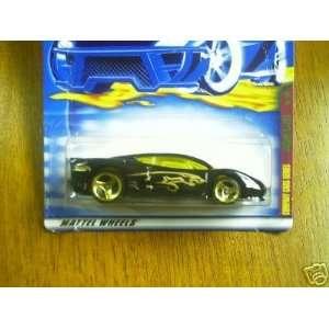 Mattel Hot Wheels 2001 164 Scale Black Jaguar XJ 220 Die
