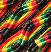170 Friendship Bracelets RASTA wholesale lot Jamaican
