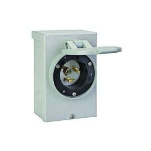 Reliance Controls 50 Amp Power Inlet Box   PB50 Patio