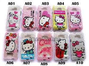 Hello kitty Bling full Case for SAMSUNG GALAXY S2 i9100