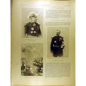1901 Portrait Menard Brugere Dunkirk Military French
