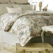 RALPH LAUREN WINTER GARDEN FLORAL 4P QUEEN DUVET SET