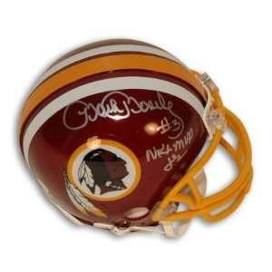 Mark Moseley Signed Redskins Mini Helmet NFL MVP 82