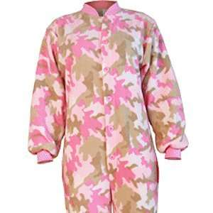 Onesies for Adults   Camouflage Pink (Small): Toys & Games