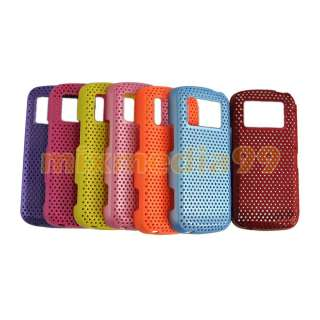 5pcs Hard Mesh Net rubber Case Cover for Nokia N97