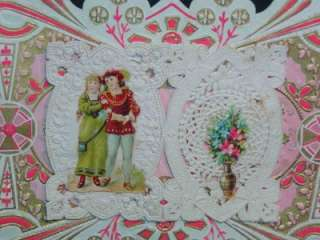 This particular item is an Antique c1880s GERMAN DIECUT VALENTINES