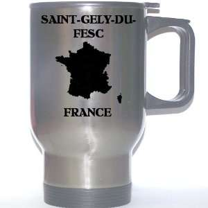 France   SAINT GELY DU FESC Stainless Steel Mug