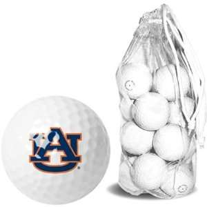 Auburn University Tigers AU NCAA Clear Pack 15 Golf Balls
