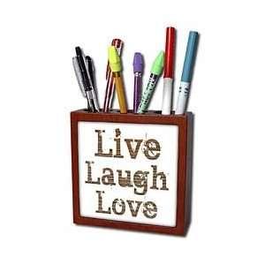 Patricia Sanders Inspirations   Wood Live Laugh Love