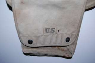 WWII US Army Satchel Map Bag