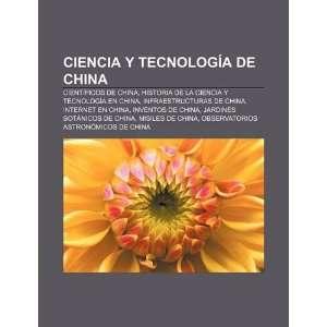 Ciencia y tecnología de China Científicos de China, Historia de