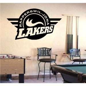 Wall Mural Vinyl Sticker Sports Logos Nla rapperswil jona