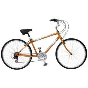 Sun Bicycles Ruskin Sport 700C Bike Sun Hybrid Rusk M16 21S Org/Sil 10