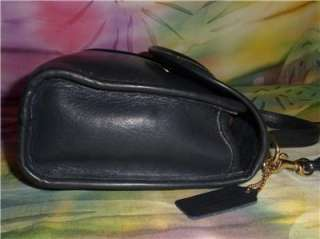 GR8 4 SUMMER! Navy BLUE Leather COACH REGINA Small CROSSBODY BAG