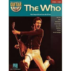 The Who   Guitar Play Along Volume 108   Book and CD