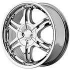 16 inch Helo He832 chrome wheels rims 5x110 5 LUG +42