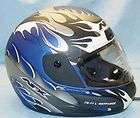 AFX FX11 LIGHTFORCE MOTORCYCLE HELMET BLUE MULTI SIZE XXLARGE