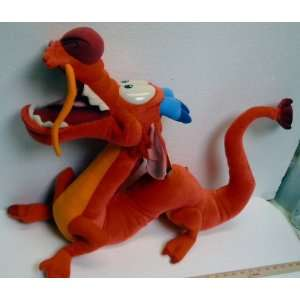 Disney Mulan; 44 Talking Mushu; Plush Stuffed Toy
