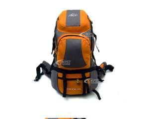 38L Nylon Sport Camping Hiking Travel Backpack Bag ORANGE CB02
