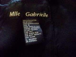Mlle Gabrielle Dimond Gem Little Black Dress Size 8