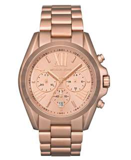 Michael Kors MK5503 Womens Rose Gold Tone SS Chronograph Watch