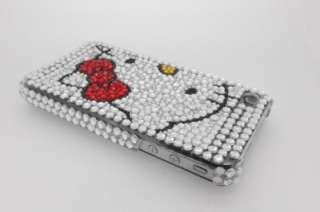 Big Hello Kitty Bling Hard Case For iPhone 4 +Mirror
