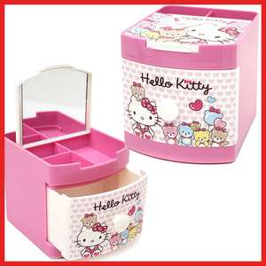 Sanrio Hello Kitty Jewelry Box / Mini Organizer Storage