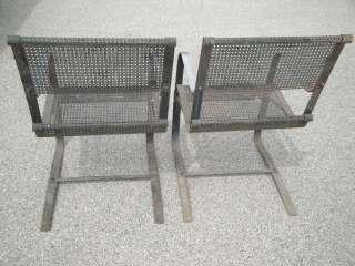 Art Deco Machine Age 1933 Worlds Fair McKay Craft Springer Chairs