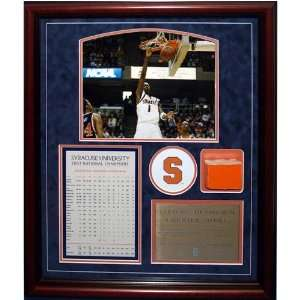 Hakim Warrick 2003 Natl Champs Uns Collage w/Actual Piece