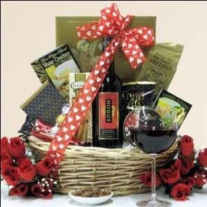 Hogue Cellars Cabernet Sauvignon Valentines Day Gift Basket