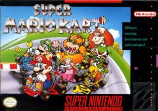 Nintendo Super Mario Kart toy SNES Remote NEW