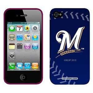 Milwaukee Brewers stitch on AT&T iPhone 4 Case by Coveroo