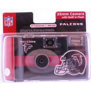 Official Licensed   NFL NFC Atlanta Falcons 35mm Disposable Camera