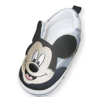 Infant Toddler Boys Light Blue Plaid Disney Mickey Mouse Sneaker
