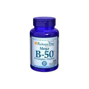 Vitamin B 50 Complex 50 mg 250 Tablets Health & Personal