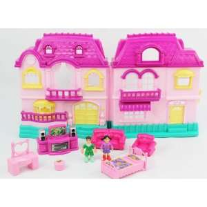 My Sweet Happy Family Playhouse Battery Operated w/ lights, melodys
