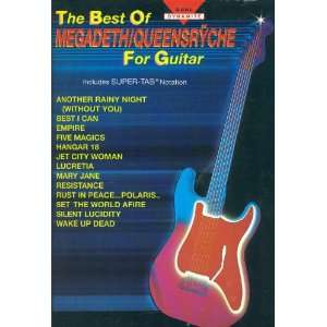 The Best of Megadeth/Queensryche for Guitar Warner Bros