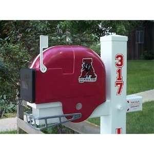 Alabama Crimson Tide Helmet Mailbox