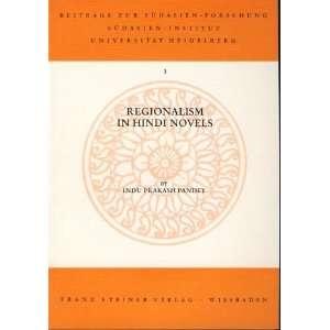 zur sudasien   Forschung) (9783515019545) Indu Prakash Pandey Books