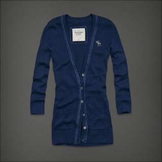 NWT Abercrombie & Fitch Women Macey Sweater Cardigan Shirt Top