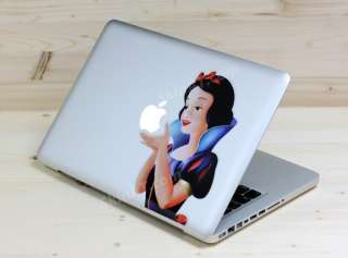 Snow White MacBook Air Pro Vinyl Decal Art Skin Sticker
