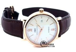 IWC Portofino Automatic 40mm IW356504 3565 04 Mens Watch Rose Gold