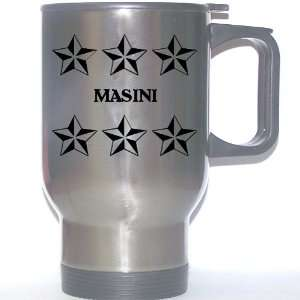 Personal Name Gift   MASINI Stainless Steel Mug (black
