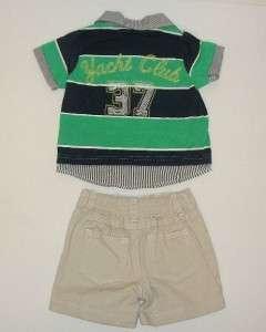 IZOD BABY BOYS LOT SET CLOTHES, SZ 18 MOS NWT