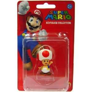 Super Mario Bros. Keychain Collection Toad Toys & Games