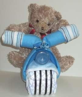 DIAPER CAKE MOTORCYCLE/BIKE SHOWER GIFT~GIFTS BY JAYDE