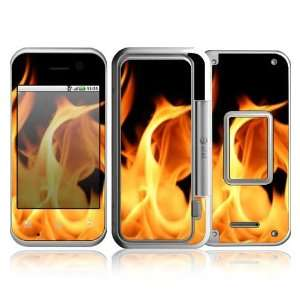 Flame Design Protective Skin Decal Sticker for Motorola