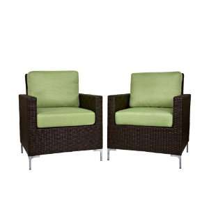 angeloHOME Napa Springs Chair in Summer Home Bamboo Green